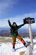 奥さんの冬山デビューは,やっぱり入笠山でした!