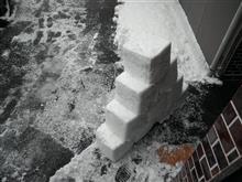 雪が降ったので~ ョД`)