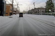 また雪! 20180212