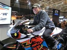 電動バイク「神電四」シュミュレーター試乗体験記 @ 大阪オートメッセHONDAブース