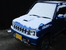 雪のち洗車