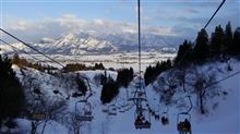 病み上がりの雪山