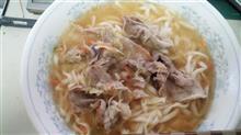 今日のカロリーオフ麺はカレーうどんで!