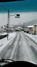 県北は大雪でチェーン