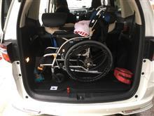 妻がちょっとしたアクシデントで入院しましたが こんな時、低床は乗りやすくなんでも臨機応変に積めるオデには頭が下がりますね