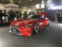 大阪オートメッセ2018年レクサス
