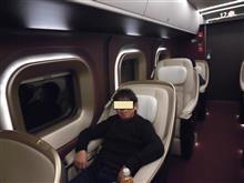 噂の北陸新幹線「グランクラス」に乗ってみました!!