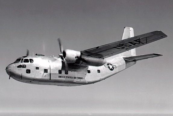 軍用機としては地味な存在ですが、結構好きな軍用輸送機 フェアチャイルドC-123 プロバイダー (Fairchild C-123 Provider)