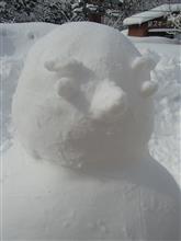 雪遊び(▼∀▼)に赤子山スキー場へ