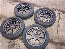 春の準備です、タイヤが届きました♪。