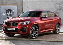「BMW・X4(2019)」/ジュネーブモーターショー2018