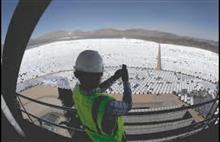 米国のソーラー発電所 Ivanpah太陽光発電システム