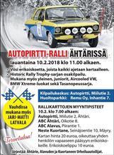 Autopirtti Ralli 2018