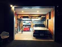 ガレージに収まるのか。