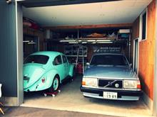 2台の入居車