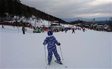 息子を連れ出しスキーへ