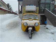 田舎の雪下ろし・・・・