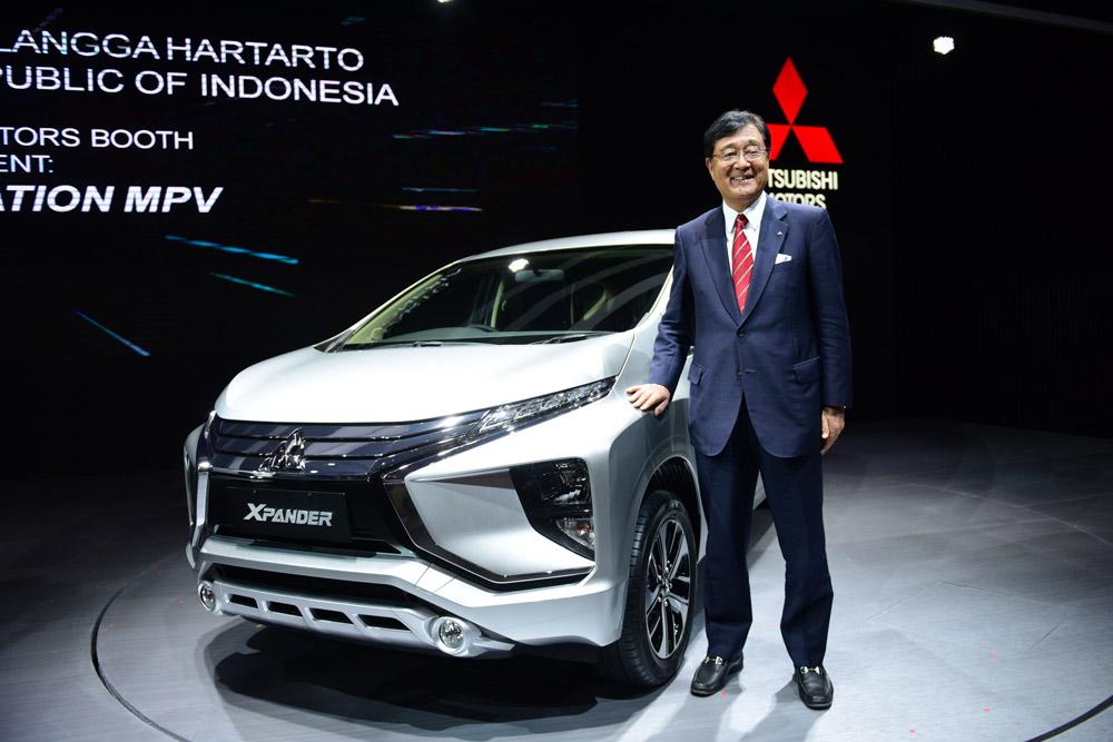 2018年度 インドネシア に おける 三菱車 の 販売目標台数 は 約 倍増 の 14万台 ・・・・