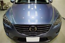 3年目のリフレッシュ CX-5の磨き・ガラスコーティング【リボルト宇都宮】