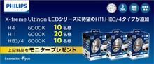 みんカラ:モニターキャンペーン【フィリップスLEDヘッドライト】