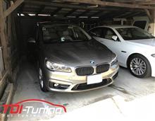 【BMW 218d LDA-2C20 ディーゼルサブコンTDI Tuning】インプレ頂きました。