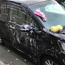 自己流の洗車