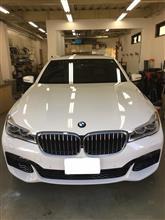 BMW750 コーティング