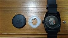 アディダス腕時計の電池交換