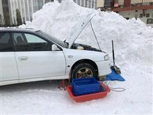 冬なのに水漏れ修理