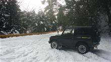 雪が積もりました。ジムニーで出かけよう(^^♪