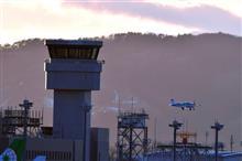仙台国際空港のトワイライト写真修行。 (-。-)y-゜゜゜