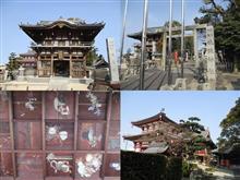 ●十年ぶりの訪問・・・。故郷のお寺と神社