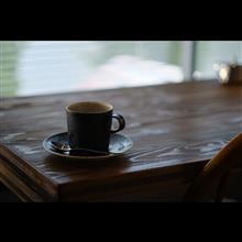 コーヒーの香りに包まれる時間。