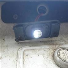 《ナンバー灯LED交換》