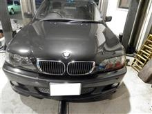 BMW E46 車検整備 タイロッド交換