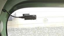 リヤドライブレコーダー取付けDIY(隠し配線)