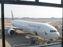 香港紀行1 -CX501便で香港へ-