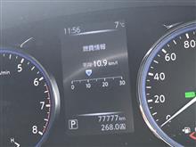 77,777km(^^)