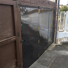 RX-8側車庫の製作完了