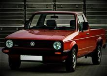 VWゴルフベースのピックアップトラックもあったりして(@@;)