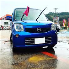 久しぶりの洗車(^^)