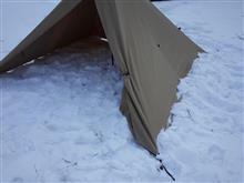近所でソロキャンプ