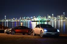 シアトル でドライブと写真撮影