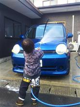 洗車からのソロツー