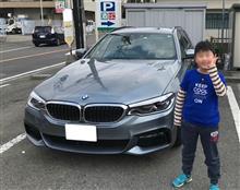 G31 BMW530iツーリング納車
