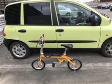 折りたたみ自転車を導入