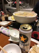 久々の鍋とエリーゼ(^_^)