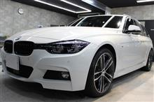 「Mスポーツ・エディション・シャドー」BMW 320dツーリングのガラスコーティング【リボルト郡山】