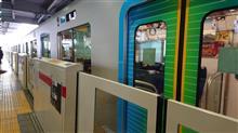 東急東横線「武蔵小杉」駅に初めて見た車両が停車していました♪