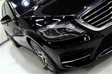 メルセデスベンツ・S400hのガラスコーティング【リボルト佐賀】